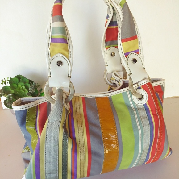 Fossil Handbags - Fossil Multicolor Tote Bag